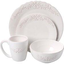 Bianca Laurel 16 Piece Dinnerware Set