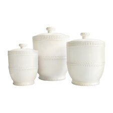 Bianca 3 Piece Canister Set