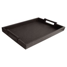 Altamont Leather Tray in Brown