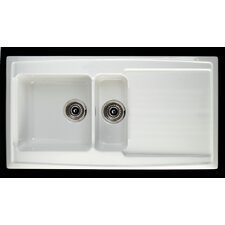 Argon 98cm x 52cm 1.5 Bowl Kitchen Sink