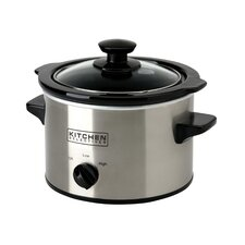 1.5-Quart Stainless Steel Slow Cooker