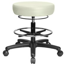 Height Adjustable Medical Stool with Foot Ring