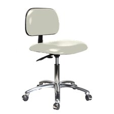 "12"" Lab Chair with Basic Backrest"