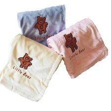 Satin Little Bear Blanket