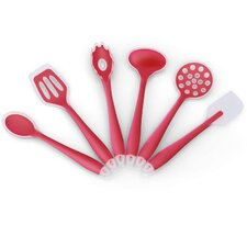 6 Piece Non-Stick Silicone Kitchen Cooking Utensil Set