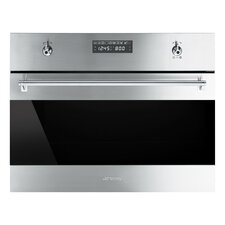 "24"" Electric Single Wall Oven with Built-In Microwave"
