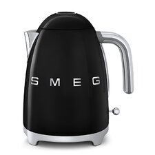 50s Style 1.75 Qt. Stainless Steel Electric Tea Kettle