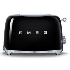 50s Style 2 Slice Toaster