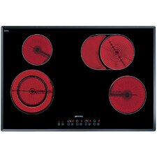 """30"""" Electric Cooktop including Angled Edge Glass"""