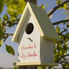 Cottage Mounted Bird House