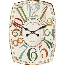 American Mercantile Wall Clock