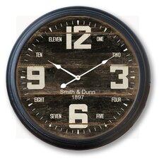 """36"""" Smith & Dunn Framed Wall Clock"""