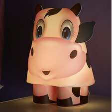 "Cow 10.63"" H Table Lamp"