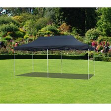 10 Ft. W x 20 Ft. D Canopy with White Frame