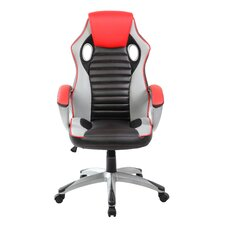 High-Back PU Executive Racing Style Swivel Gaming Chair
