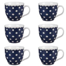 Oxford Carnaby Fine China Mug (Set of 6)