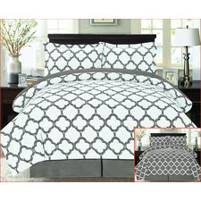 8 Piece Reversible Bed-In-A-Bag Set