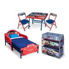 5-tlg. Kinderzimmer-Set Cars