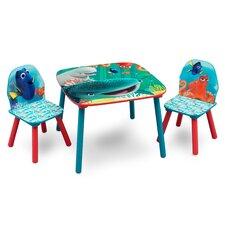 3-tlg. Kinder-Tisch Set Dorie