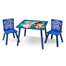3-tlg. Kinder-Tisch Set Jake And The Neverland Pirates