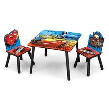 3-tlg. Kinder-Tischset Disney Cars