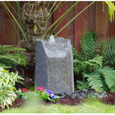 Basalt Rock Hollow Springs Pondless Glass Fiber Reinforced Concrete Fountain Kit