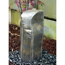 Rock Silver Falls Pondless Glass Fiber Reinforced Concrete Fountain Kit