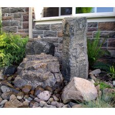 Rock Cascade/Mini Mountain Glass Fiber Reinforced Concrete Triple Pondless Fountain Kit