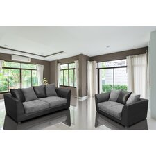 Alan 2 Piece Living Room Set