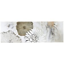 Leinwandbild Blüten Mix, Originalgemälde