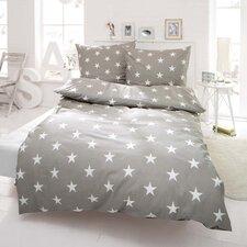 Bettwäsche-Set Sterne aus 100% Baumwolle-Renforcé
