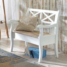 Sitzbank Lily mit Stauraum aus Holz