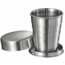 Scope Stainless Steel Folding 2 oz. Shot Glass