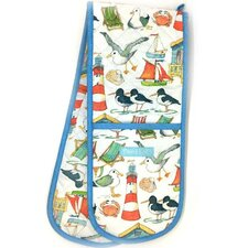 Coastal Double Oven Gloves