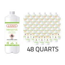 Bio Ethanol Fireplace Fuel - 48 Pack (Set of 48)