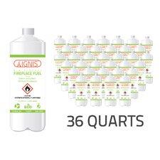 Bio Ethanol Fireplace Fuel - 36 Pack (Set of 36)