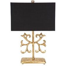 """Gold Fleur de Lis 34"""" Table Lamp"""