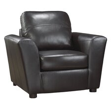 Delta Italian Leather Arm Chair