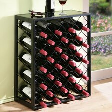 32 Bottle Floor Wine Rack