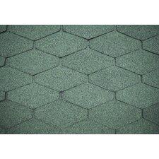 100 cm x 30 cm Dachschindeln aus Bitumen