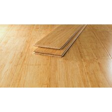"5 5/8"" Strand Bamboo Hardwood Flooring in Natural"