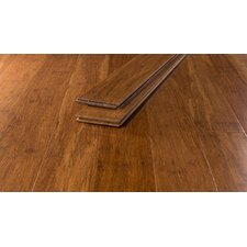"3 3/4"" Strand Bamboo Hardwood Flooring in Caramel"