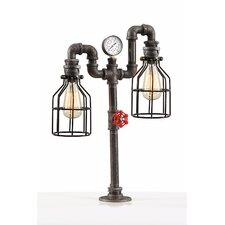 """Industrial 24"""" Table Lamp"""