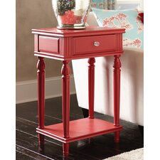 Cameron Cranberry End Table