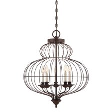 Laila 5 Light Candle Chandelier