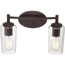 Edison 2 Light Bath Vanity Light