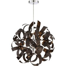 Ribbon 5 Light Pendant