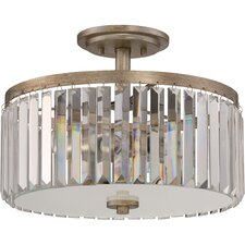 Mirage 3 Light Semi Flush Mount