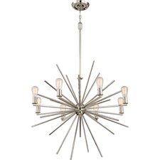 8 Light Cage Chandelier