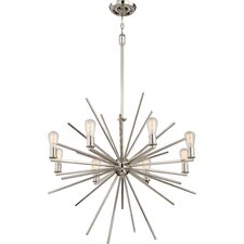 8 Light Cage Chandelier